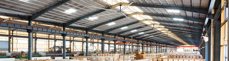 Ветромастер - Большие потолочные вентиляторы hvls